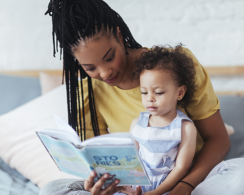 Mom Reading Stories
